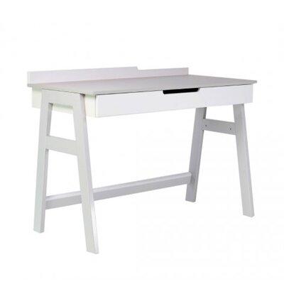 Письменный стол Верес Манхэттен цвет бело-серый производства Верес - главное фото