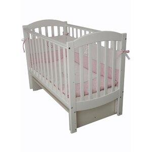 Детская кроватка Верес Соня ЛД-10 маятник без ящика белый