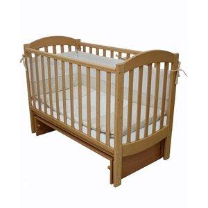 Детская кроватка Верес Соня ЛД-10 маятник без ящика бук