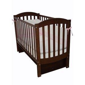 Детская кроватка Верес Соня ЛД-10 маятник без ящика орех