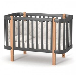 Детская кроватка Верес ЛД5 Монако цвет темно-серый