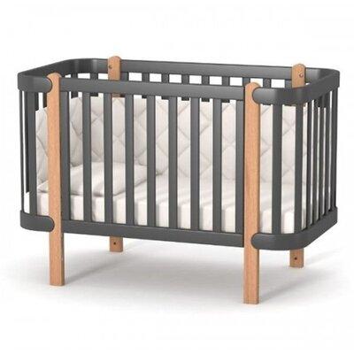 Детская кроватка Верес ЛД5 Монако цвет темно-серый производства Верес - главное фото