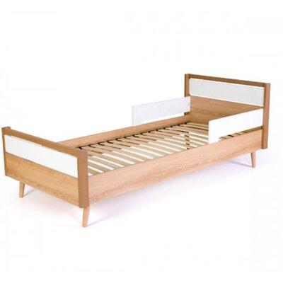 Подростковая кровать Верес Нью Йорк (80*190) цвет бело-буковый производства Верес - главное фото