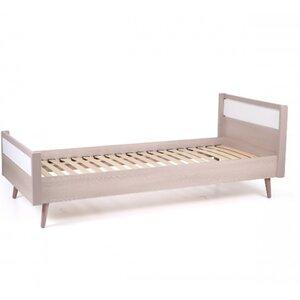 Подростковая кровать Верес Нью Йорк (80*190) цвет капучино-белый