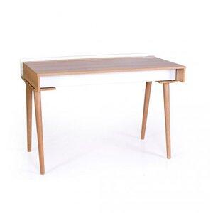 Письменный стол Верес Нью Йорк цвет бело-буковый