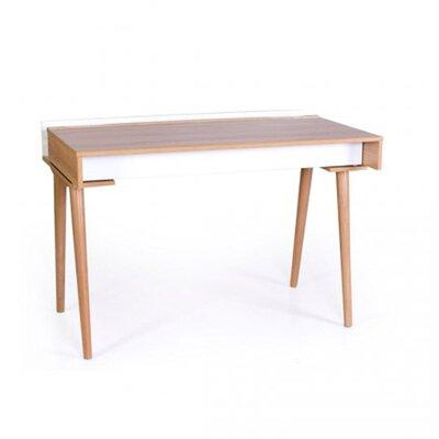Письменный стол Верес Нью Йорк цвет бело-буковый производства Верес - главное фото