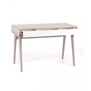 Письменный стол Верес Нью Йорк цвет капучино-белый