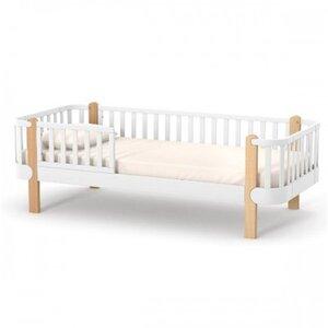 Подростковая кровать Верес Монако цвет бело-буковый