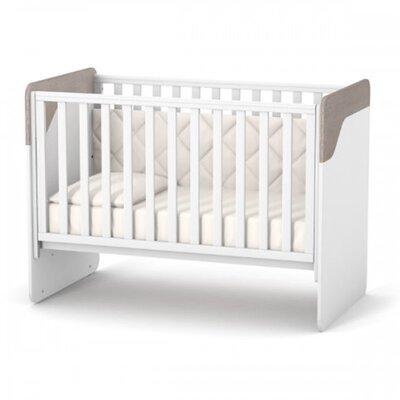ДетскаЯ кроватка Верес Сидней (без ящика) цвет капучино-белый производства Верес - главное фото
