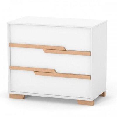 Комод Верес Сиэтл (900) цвет бело-буковый производства Верес - главное фото