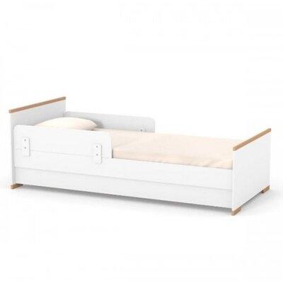 Подростковая кровать Верес Сиэтл (80*190) цвет бело-буковый производства Верес - главное фото