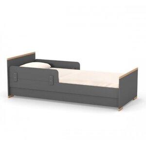 Подростковая кровать Верес Сиэтл (80*190) цвет темно-серый