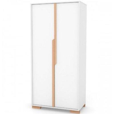 Шкаф Верес Сиэтл (450) цвет бело-буковый производства Верес - главное фото