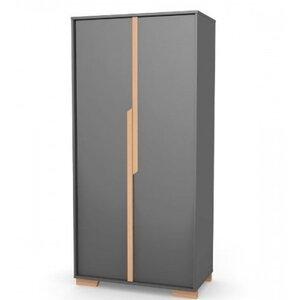 Шкаф Верес Сиэтл (450) цвет темно-серый