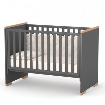 Детская кроватка Верес ЛД9 (без ящика) Сиэтл цвет темно-серый производства Верес - главное фото