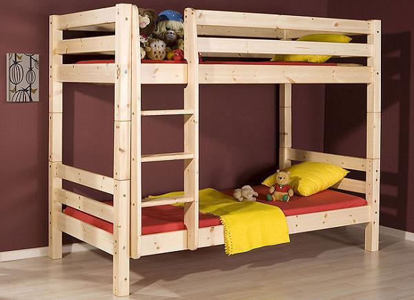 Кровать детская двухъярусная своими руками